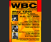 World Boxing Council International at Cristal Nightclub - tagged with 305.604.2582
