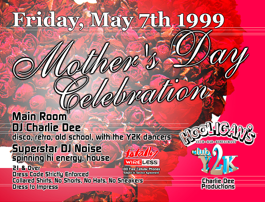Mother's Day Celebration at Hooligans