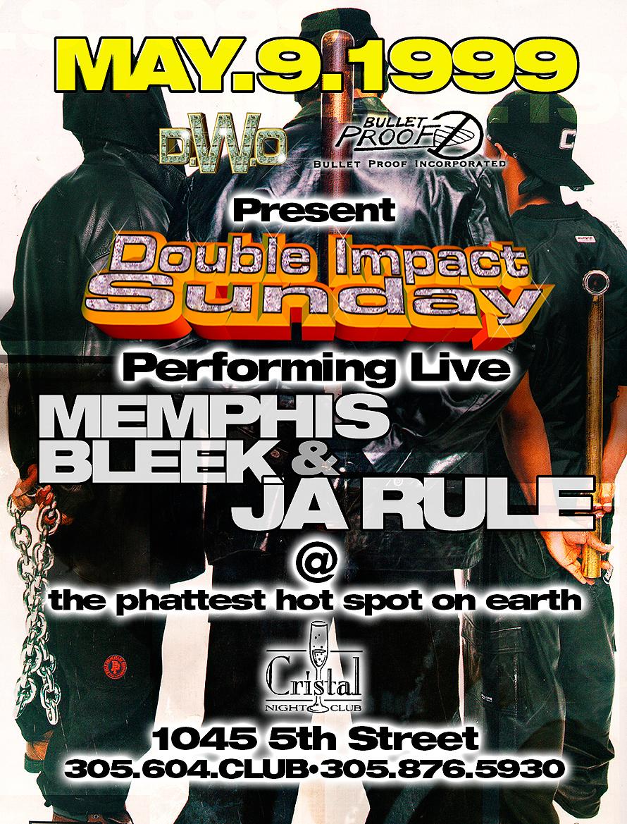 Ja Rule Live Impact Sunday at Cristal Nightclub