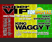 Top Shottaz Super VIP - Reggae Graphic Designs