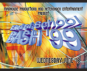 End of School Bash at Milander Auditorium - created June 1999