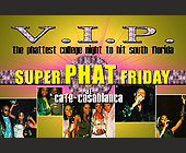 Super Phat Friday at Cafe Casablanca - 788x1200 graphic design