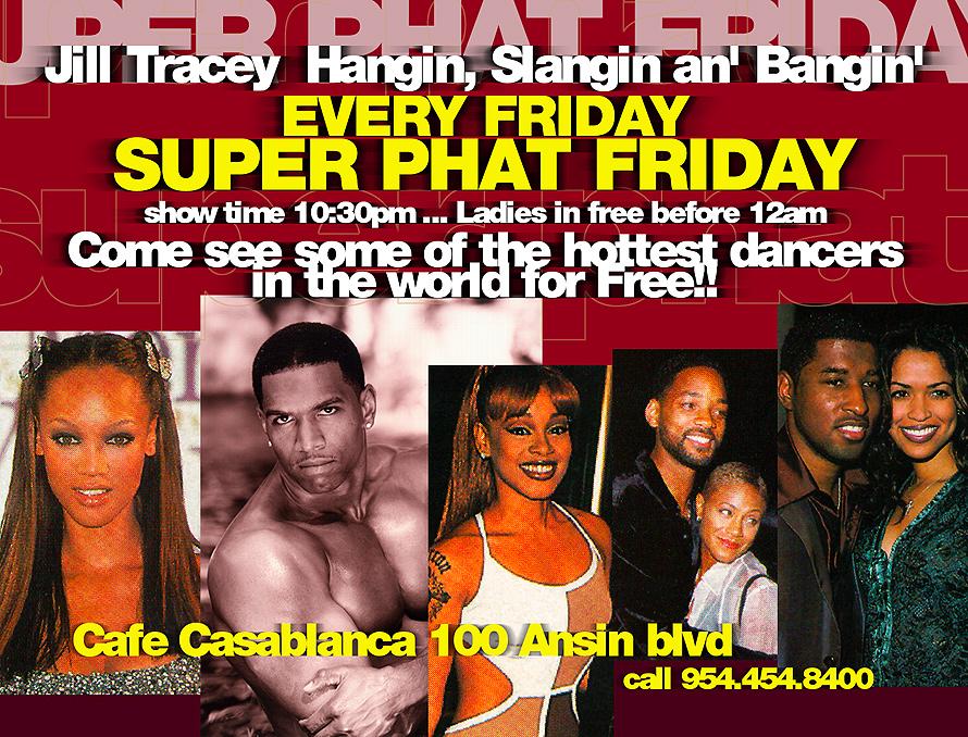 Super Phat Friday at Cafe Casablanca