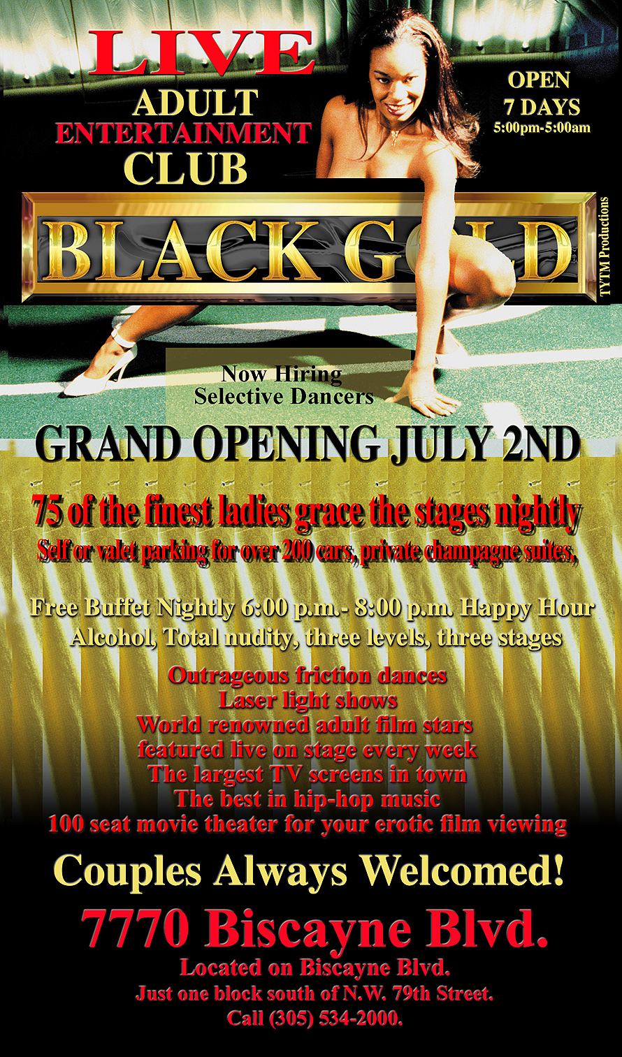 Black Gold Adult Entertainment Club Crystal