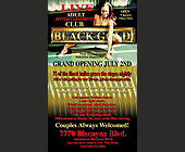 Black Gold Adult Entertainment Club Crystal - Black Gold Adult Club Graphic Designs