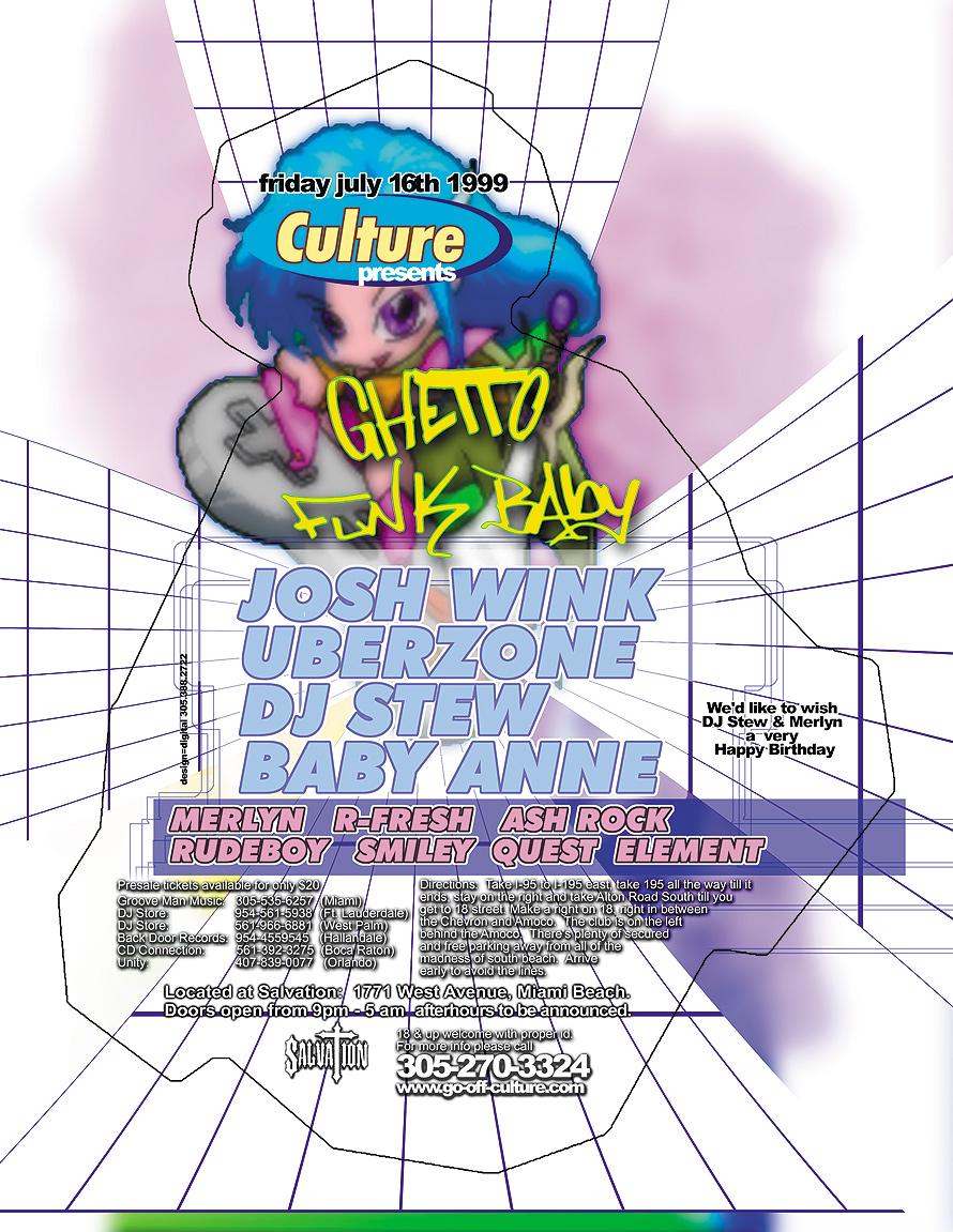 Culture Presents Ghetto Funk Baby