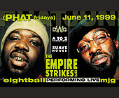 Eightball and MJG at Cafe Casablanca - created June 1999