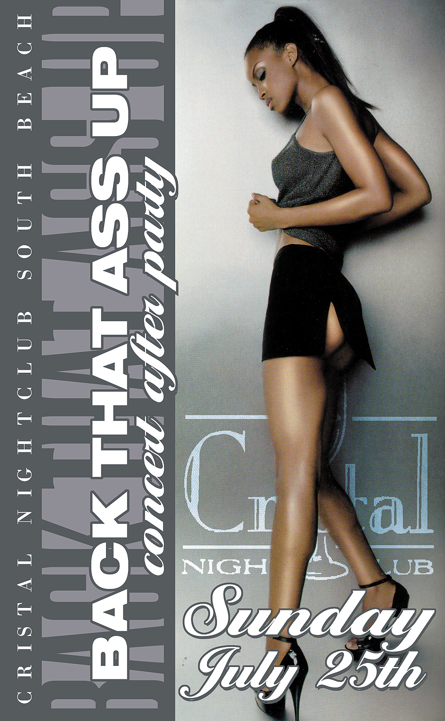 Back That Ass Up at Club Cristal