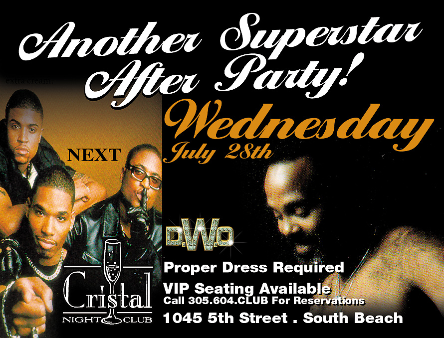 Another Superstar After Party at Cristal Nightclub