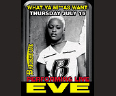 Eve Performing Live at Brickhouse - Bars Lounges