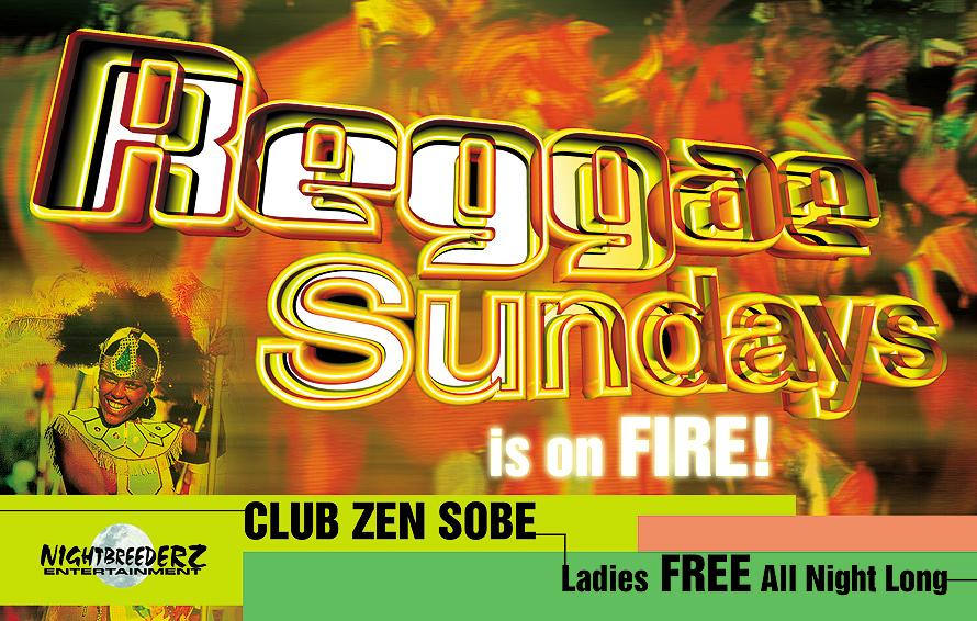 Reggae Sundays at Club Zen