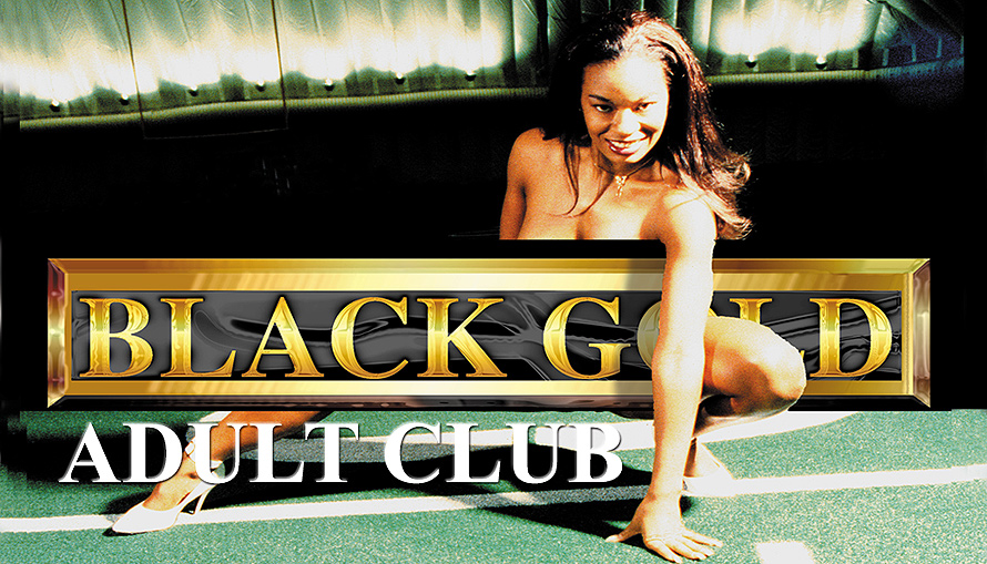 Black Gold Adult Club Business Cards