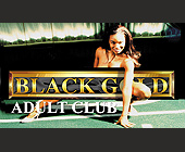 Black Gold Adult Club Business Cards - Nightclub
