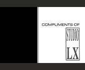 Studio LX Business Flyer - tagged with logo