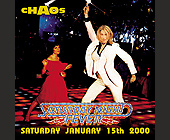 Saturday Night Fever at Chaos - Chaos Nightclub Graphic Designs