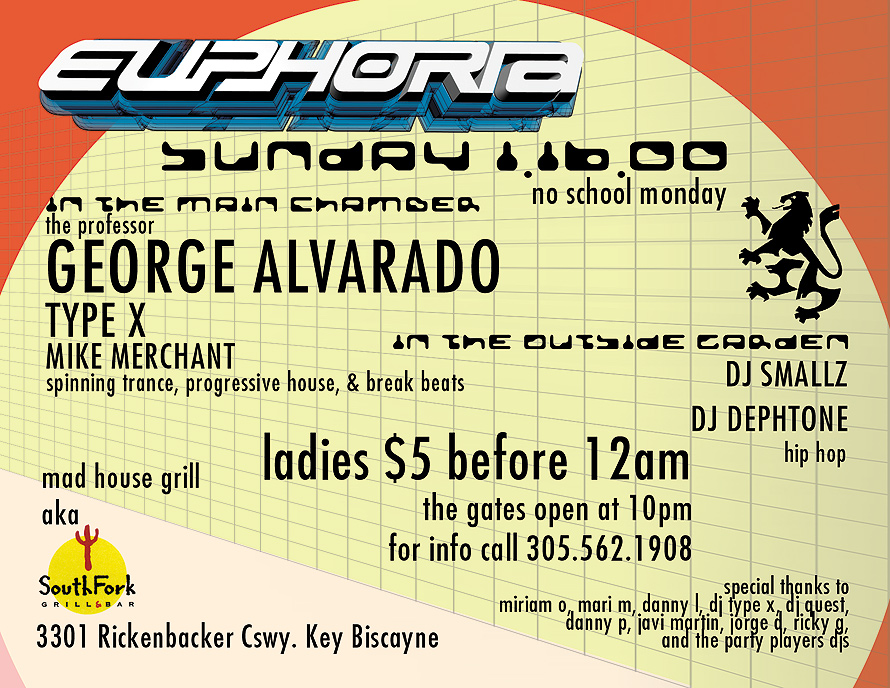 Euphoria Sundays at South Fork