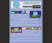 The Box Music Network Promotional Lineup - 2261x2926 graphic design