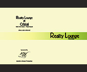 Reality Lounge Thursday at Cristal - tagged with valet parking available
