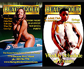 Black Gold Schedule of Events - Black Gold Adult Club Graphic Designs