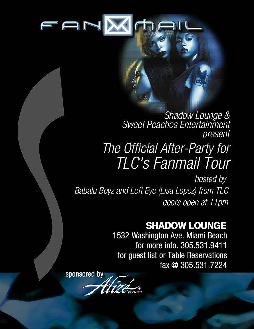 TLC Fanmail Tour at Shadow Lounge