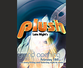 Late Nights at Plush Grand Opening - 1330x1862 graphic design