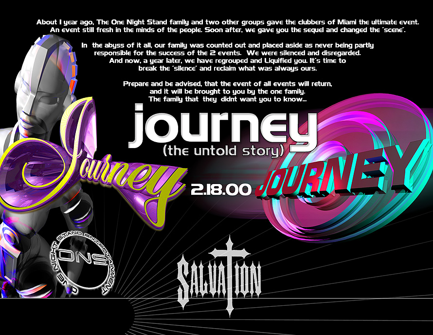 Journey The Untold Story at Salvation