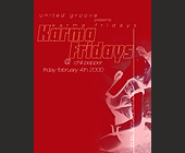 Karma Fridays at The Chili Pepper in Broward - Flyer Printing