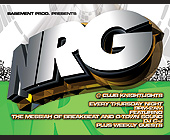 NRG at Club Knight Lights - created January 2000