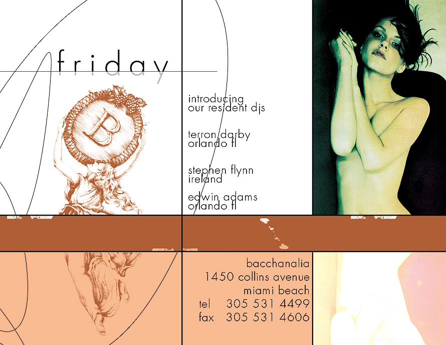 Friday at Bacchanalia