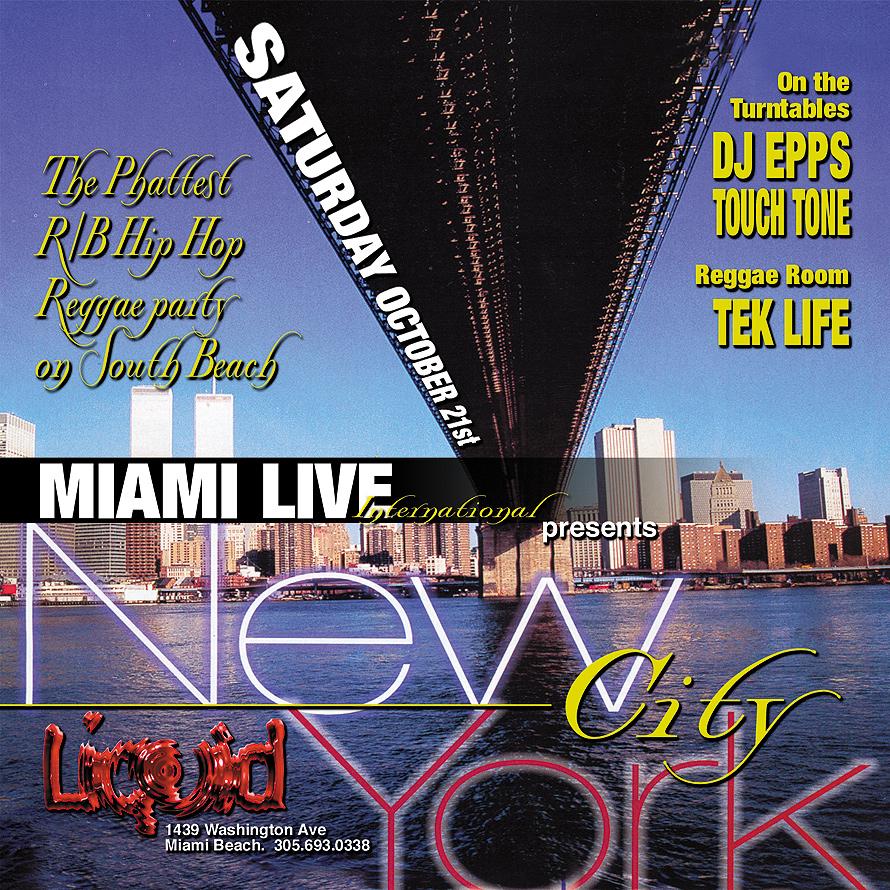 New York City Event at Liquid