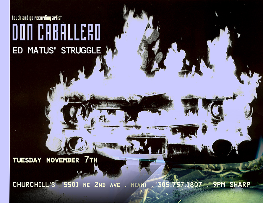 Don Caballero at Churchill's