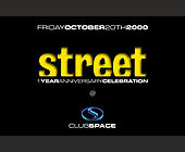Club Space Street 1 Year Anniversary Celebration - tagged with no hats