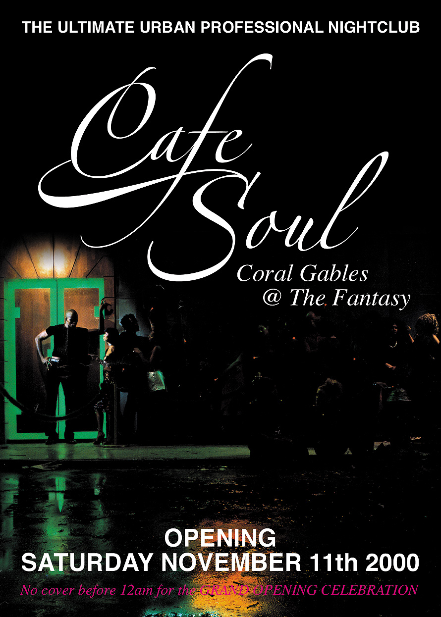 Cafe Soul Coral Gables at The Fantasy