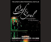Cafe Soul Coral Gables at The Fantasy - tagged with opening