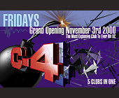 Club C-4 Granding Opening - Washington Graphic Designs
