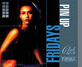 Pin Up Fridays at Club 609 - tagged with 4.25 x 3.5