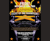 Night of the Champions - tagged with flames