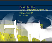 David Padilla South Beach Experience - created October 20, 2000