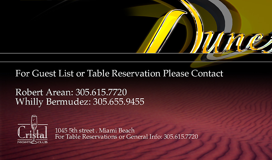 Dunes at Club Cristal