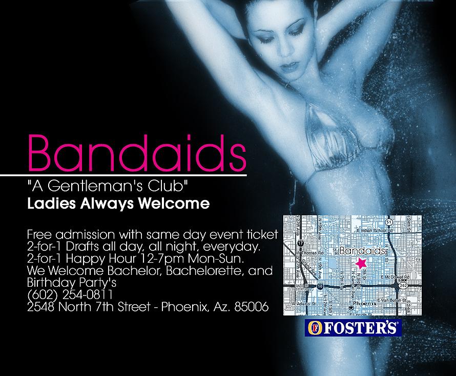 Bandaids Gentlemen's Club