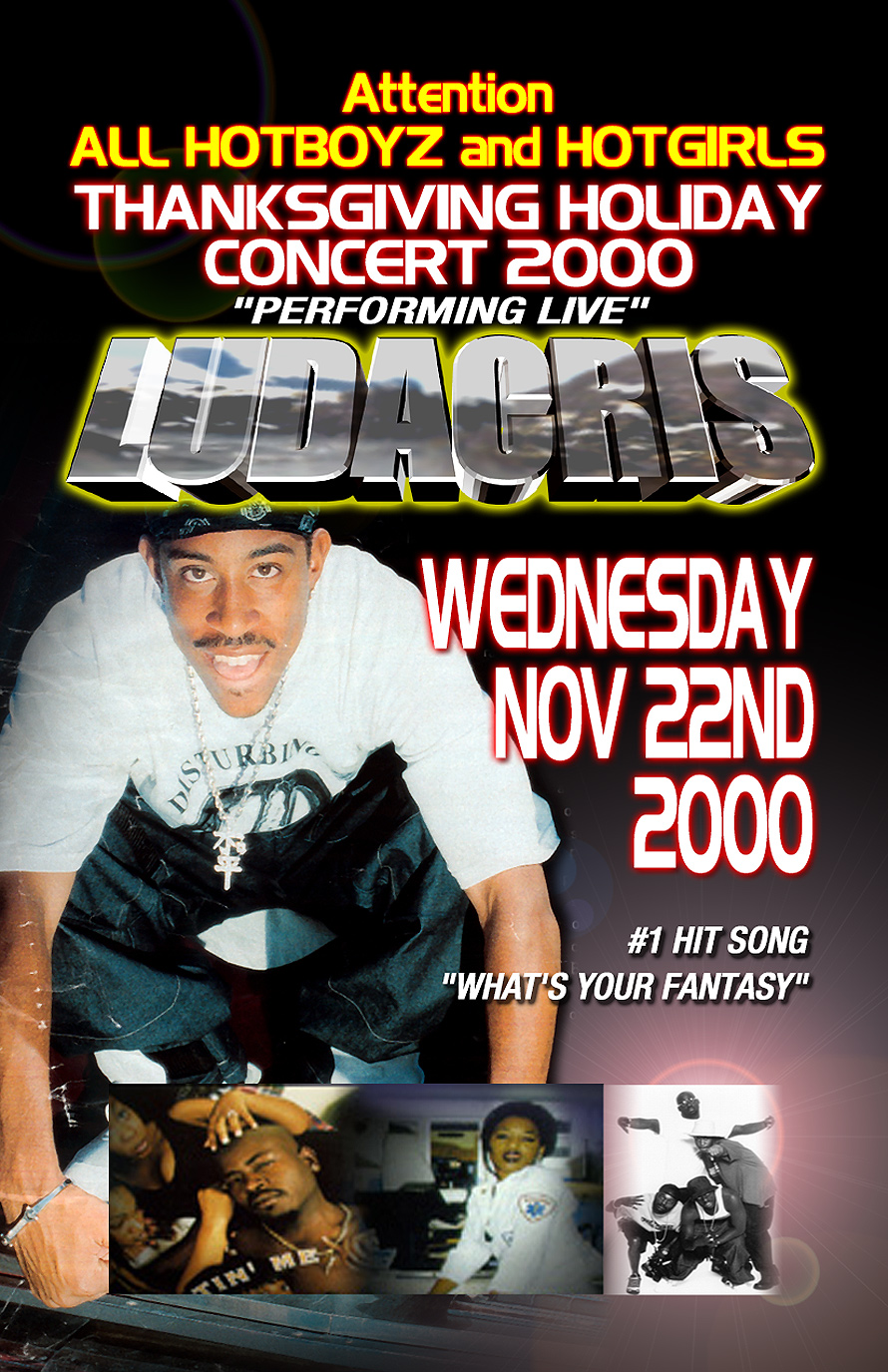 Ludacris at Club Atlanta