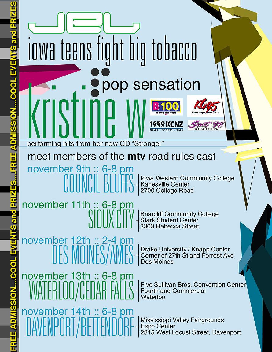 Press Pass for Kristine W