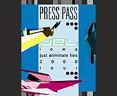 Press Pass for Kristine W - created October 26, 2000