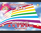 Anthem Democratic at Crobar - tagged with american flag