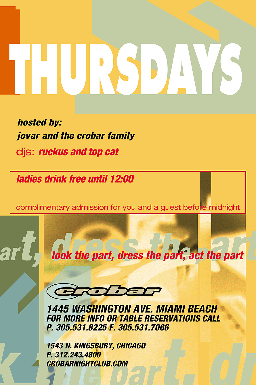 Thursdays at Crobar