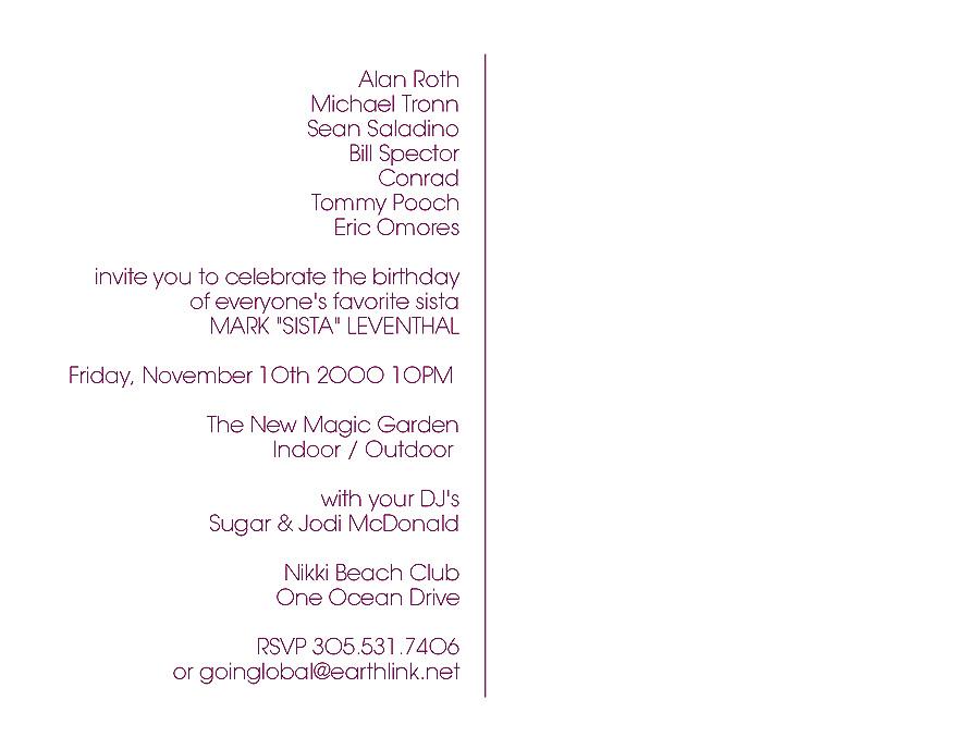 Mark Leventhals Birthday Celebration at Nikki Beach Club