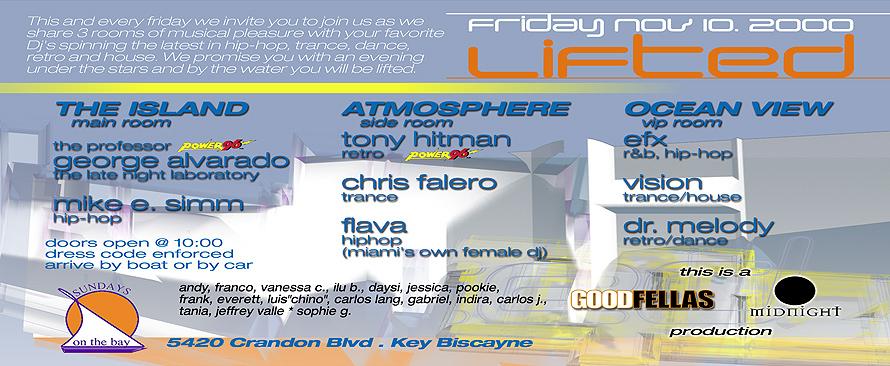 Friday at Lifted