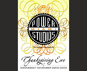 Power Miami Studios Presents Thanksgiving Eve - tagged with miami design district