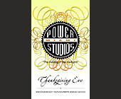 Thanksgiving Eve at Power Studios Miami - tagged with logo
