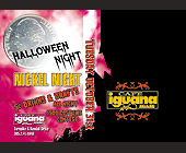 Halloween Nickel Night at Cafe Iguana - tagged with live broadcast